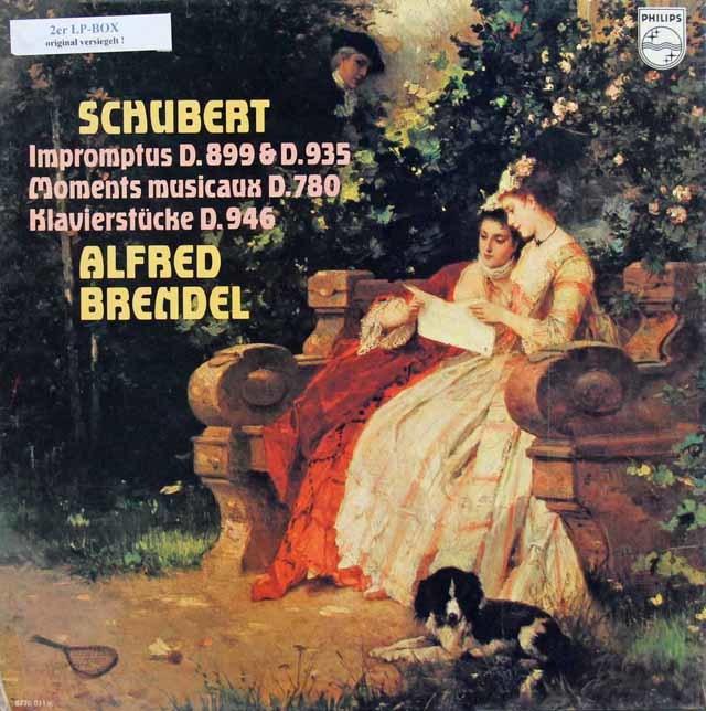 【未開封】ブレンデルのシューベルト/即興曲、「楽興の時」ほか   蘭PHILIPS 3024 LP レコード