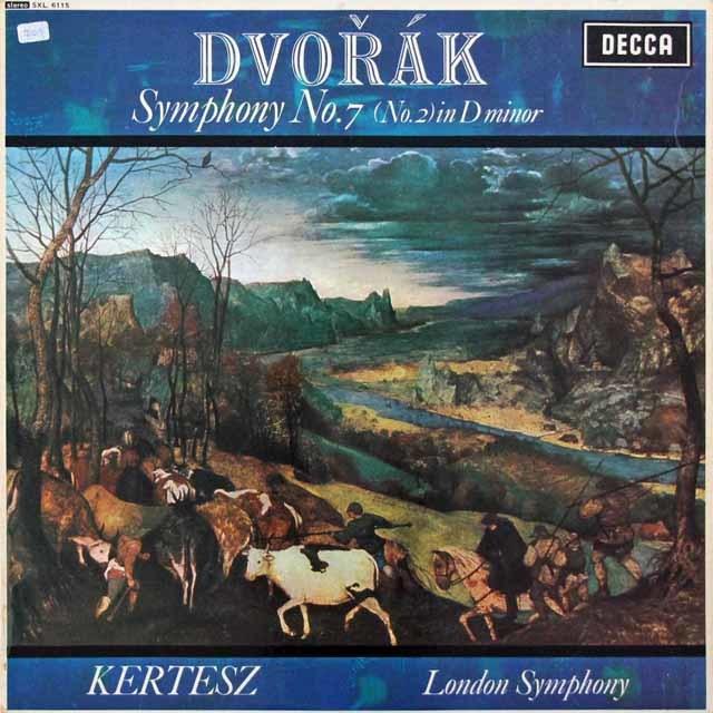 ケルテスのドヴォルザーク/交響曲第7番  英DECCA 3026 LP レコード