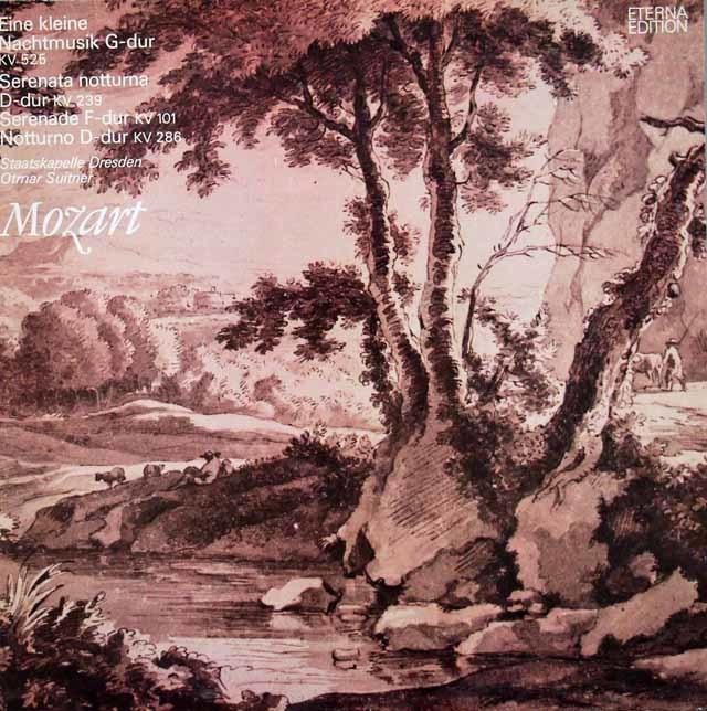 スウィトナーのモーツァルト/「アイネ・クライネ・ナハトムジーク」ほか    独ETERNA 3026 LP レコード