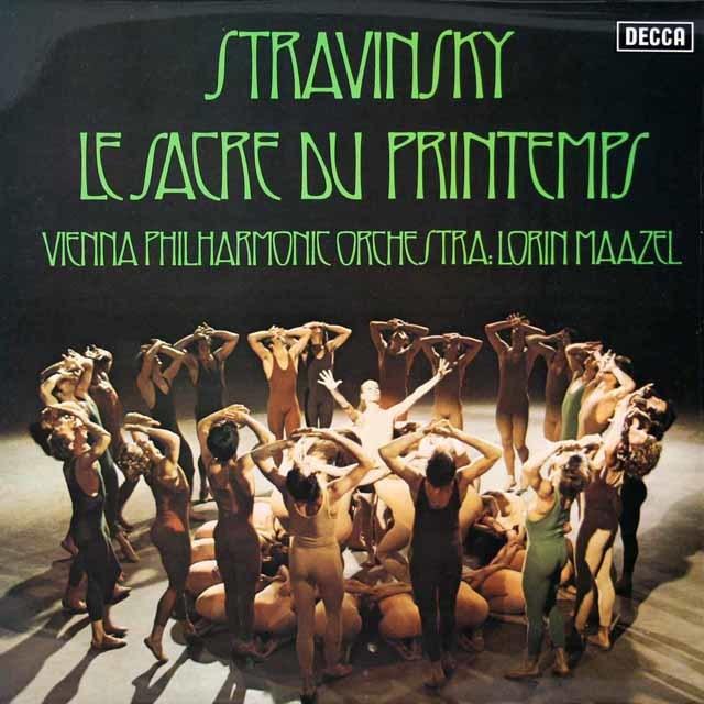 【オリジナル盤】マゼールのストラヴィンスキー/「春の祭典」    英DECCA 3027 LP レコード