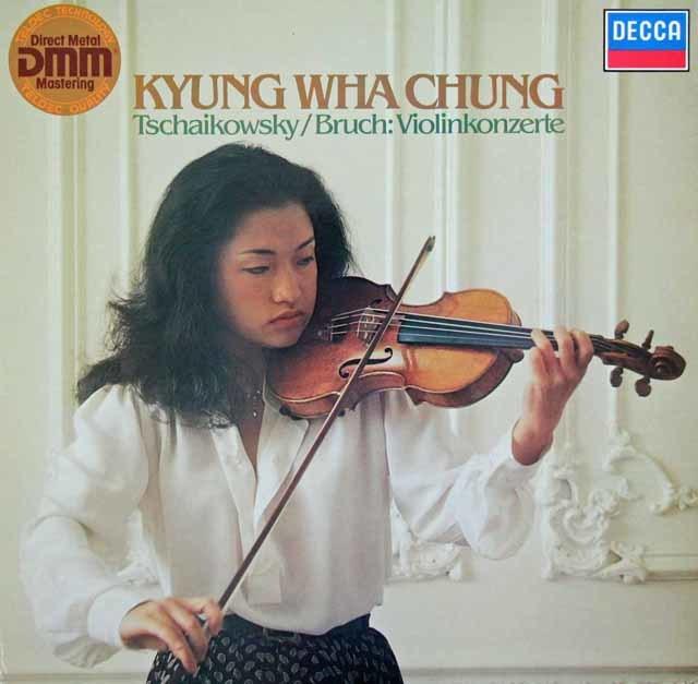 チョンのチャイコフスキー&ブルッフ/ヴァイオリン協奏曲集   独DECCA 3027 LP レコード