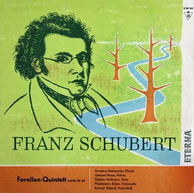 フルトヴェングラーのシューベルト/交響曲第7(9)番「ザ・グレート」  独ETERNA 3037 LP レコード