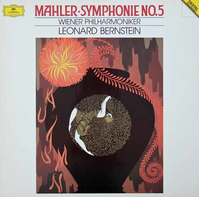 バーンスタインのマーラー/交響曲第5番   蘭DGG 3028 LP レコード