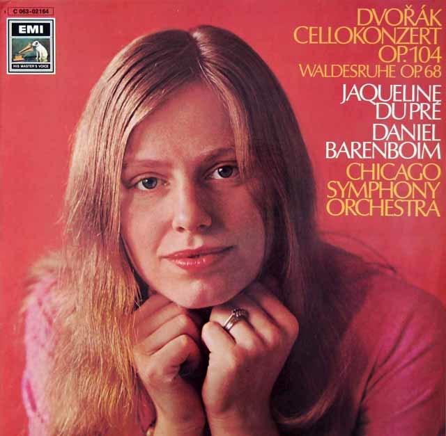 デュ・プレ&バレンボイムのドヴォルザーク/チェロ協奏曲ほか   独EMI 3028 LP レコード