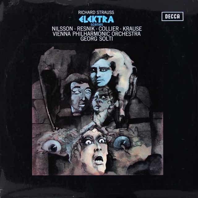 ショルティのR.シュトラウス/「エレクトラ」   英DECCA 3028 LP レコード