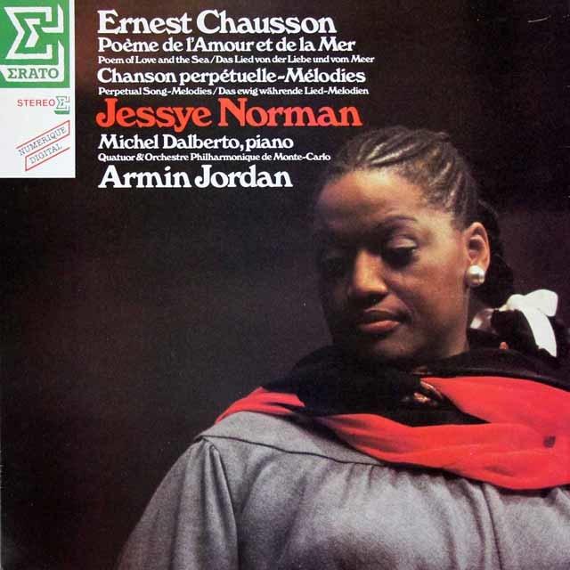ノーマンのショーソン/歌曲集   仏ERATO 3028 LP レコード