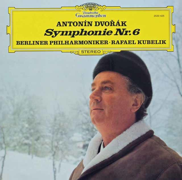 クーベリックのドヴォルザーク/交響曲第6番    独DGG 3030 LP レコード