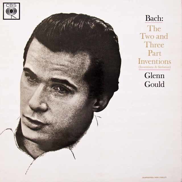 グールドのバッハ/「インヴェンションとシンフォニア」   英CBS 3030 LP レコード