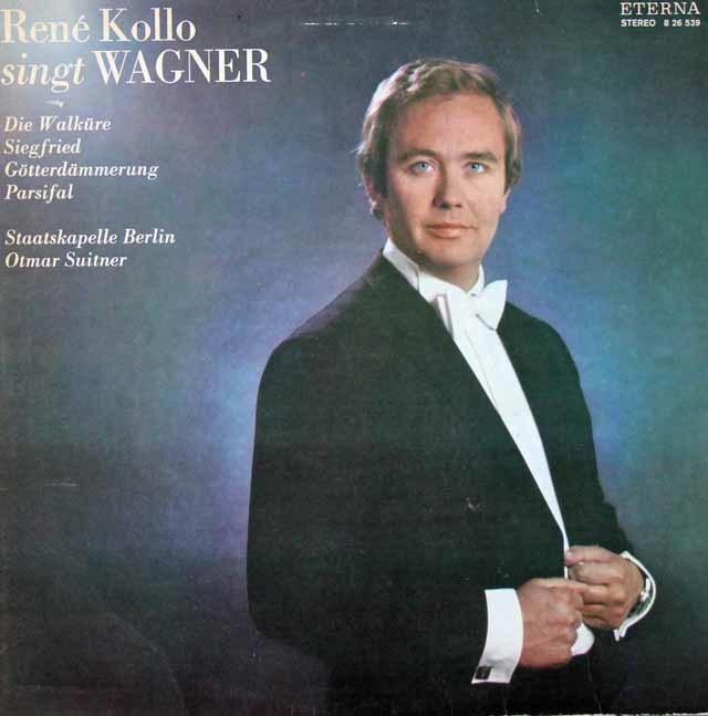 コロ&スウィトナーのワーグナー/オペラ・アリア集   独ETERNA 3030 LP レコード