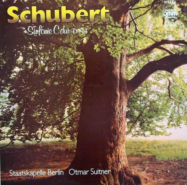 スウィトナーのシューベルト/交響曲第9番「グレート」   独ETERNA 3032 LP レコード