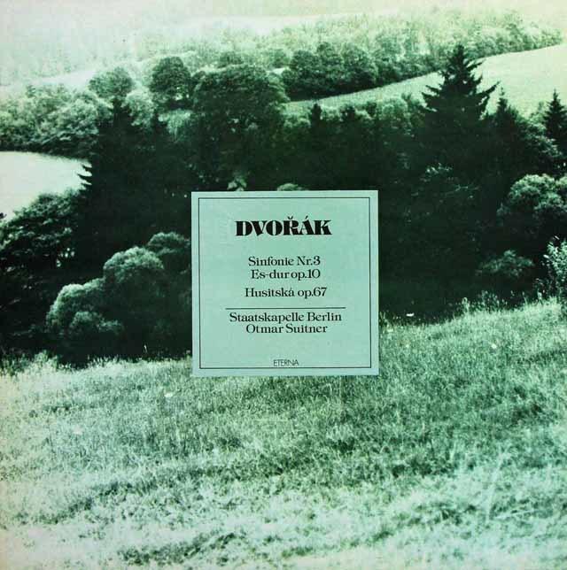 スウィトナーのドヴォルザーク/交響曲第3番ほか  独ETERNA 3032 LP レコード