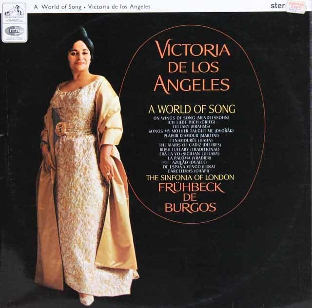 ロス・アンヘレスの名歌曲の世界    英EMI 3032 LP レコード
