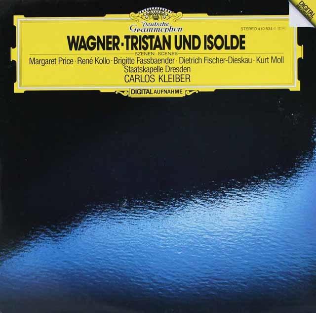 クライバーのワーグナー/「トリスタンとイゾルデ」抜粋 独DGG 3038 LP レコード