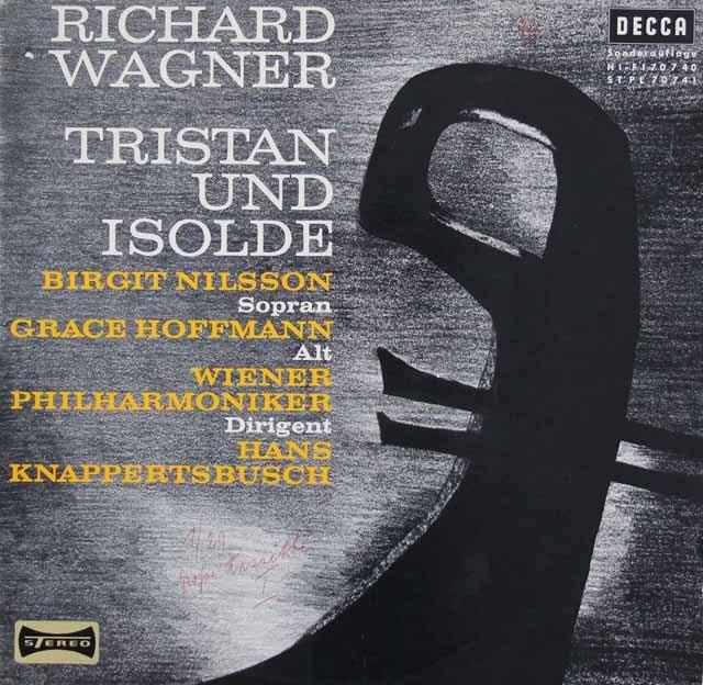 クナッパーツブッシュのワーグナー/「トリスタンとイゾルデ」抜粋  独DECCA 3038 LP レコード