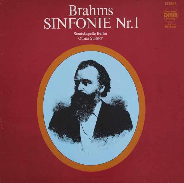 スイトナーのブラームス/交響曲第1番   独ETERNA   3038 LP レコード