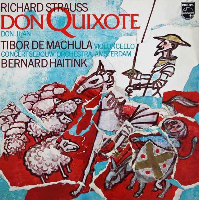 ハイティンクのR.シュトラウス/「ドン・キホーテ」 蘭PHILIPS 3038 LP レコード