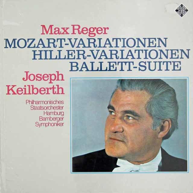 【未開封】 カイルベルトのレーガー/モーツァルトの主題による変奏曲とフーガほか 独TELEFUNKEN 3038 LP レコード