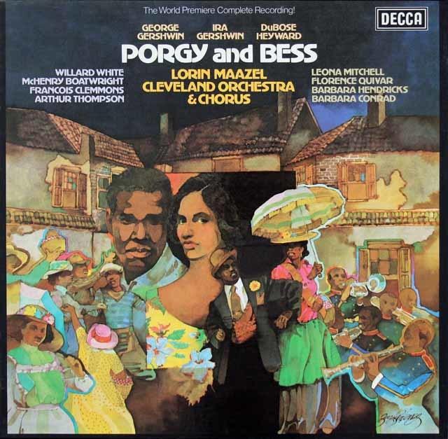マゼールのガーシュウィン/「ポーギーとベス」 英DECCA 3039 LP レコード