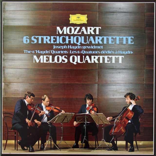 メロス四重奏団のモーツァルト/「ハイドンセット」  独DGG  3039 LP レコード