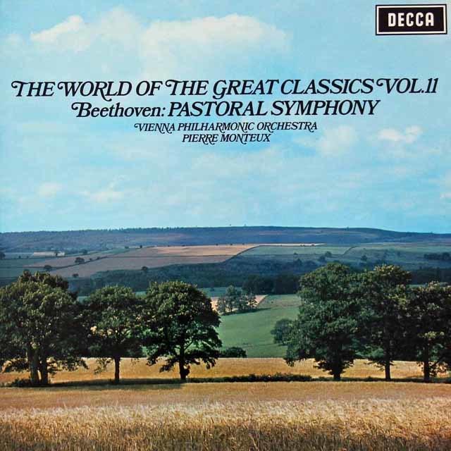 モントゥーのベートーヴェン/交響曲第6番「田園」 英DECCA 3040 LP レコード