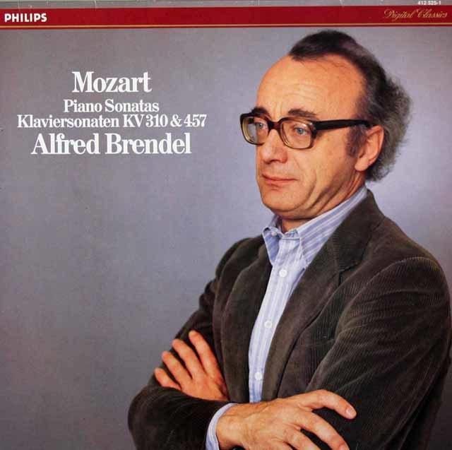 ブレンデルのモーツァルト/ピアノソナタ第8&14番 蘭PHILIPS 3040 LP レコード