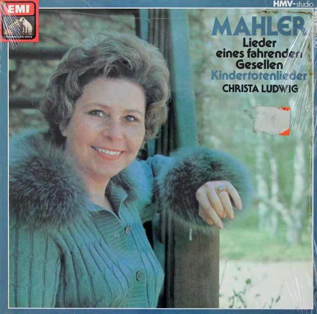【未開封】 ルートヴィヒのマーラー/「さすらう若人の歌」ほか 独EMI 3040 LP レコード