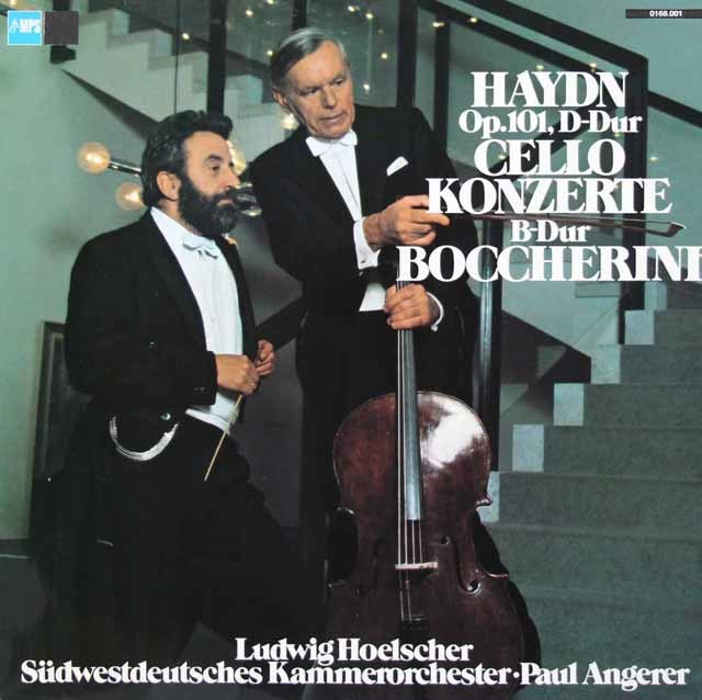 ヘルシャーのハイドン/チェロ協奏曲第2番ほか 独MPS 3040 LP レコード