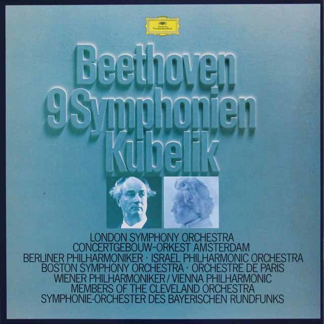 クーベリックのベートーヴェン/交響曲全集 独DGG 3040 LP レコード