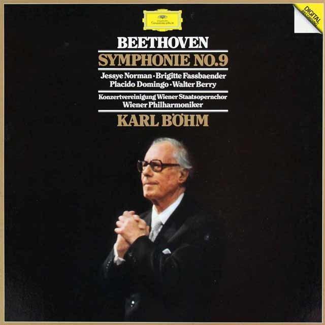 ベームのベートーヴェン/交響曲第9番「合唱付き」  独DGG 3040 LP レコード