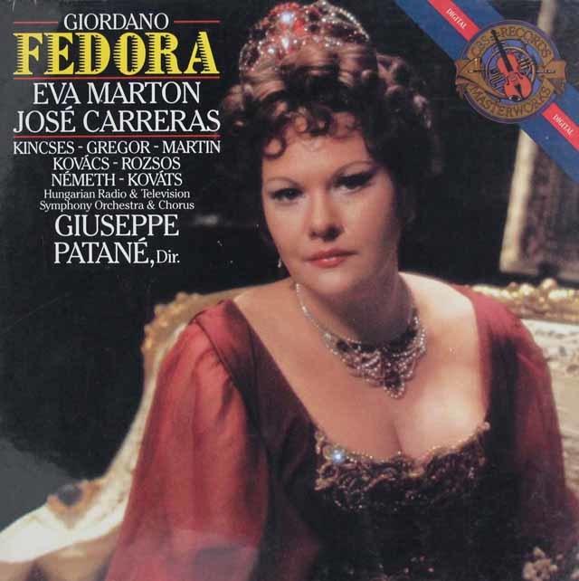 【未開封】 カレーラス&マルトンのジョルダーノ/「フェドーラ」 蘭CBS 3040 LP レコード