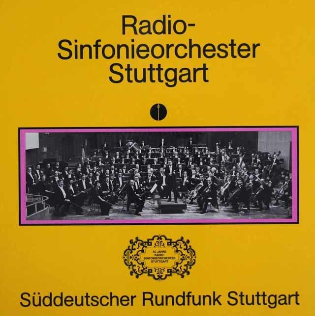 【未開封】シュトットガルト放送交響楽団40周年の歩み 独SWR 3112 LP レコード