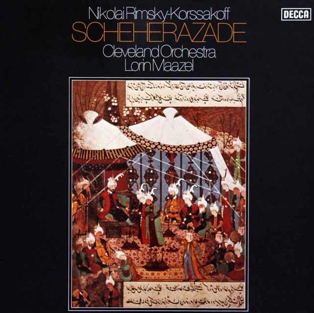 マゼールのリムスキー=コルサコフ/「シェヘラザード」 独DECCA 3041 LP レコード