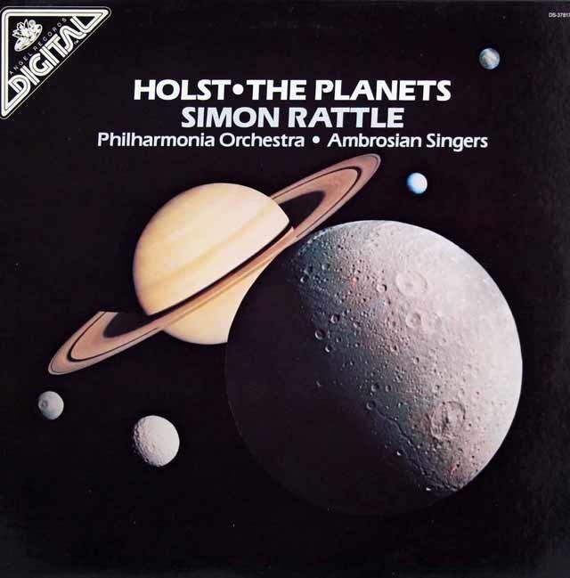 ラトルのホルスト/組曲「惑星」 米Angel 3041 LP レコード