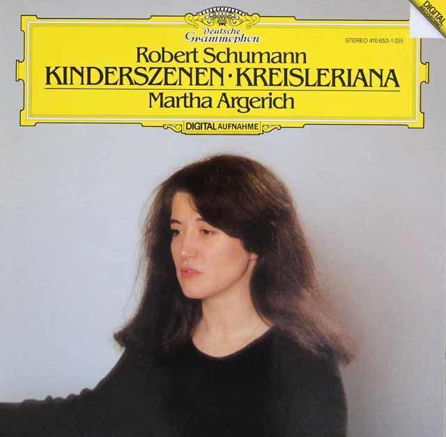 アルゲリッチのシューマン/「子供の情景」「クライスレリアーナ」 独DGG 3041 LP レコード