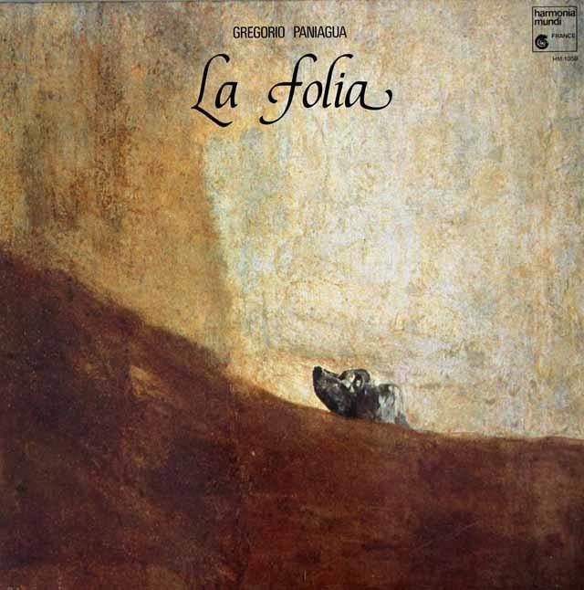パニアグアの「ラ・フォリア」 仏HM 3042 LP レコード