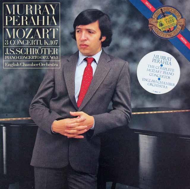 ペライアのモーツァルト/ピアノ協奏曲第1~3番ほか 蘭CBS 3042 LP レコード