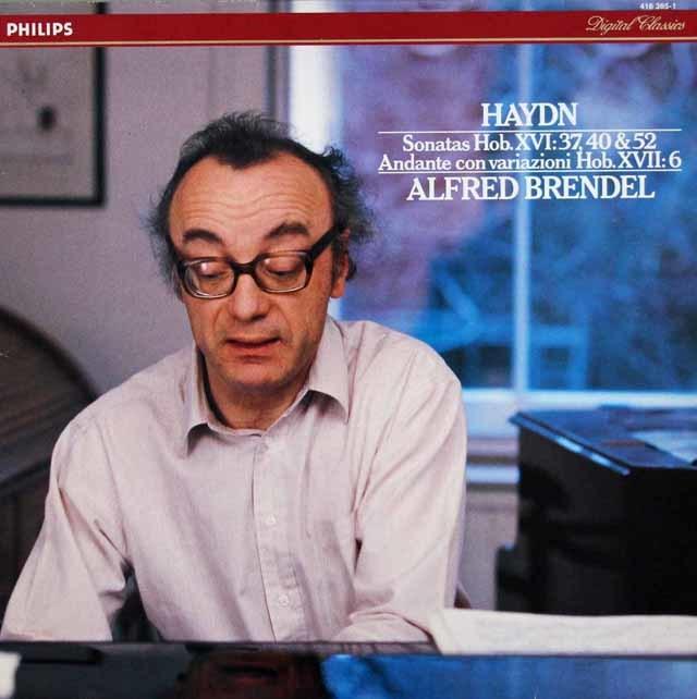 ブレンデルのハイドン/ピアノソナタ集 蘭PHILIPS 3042 LP レコード