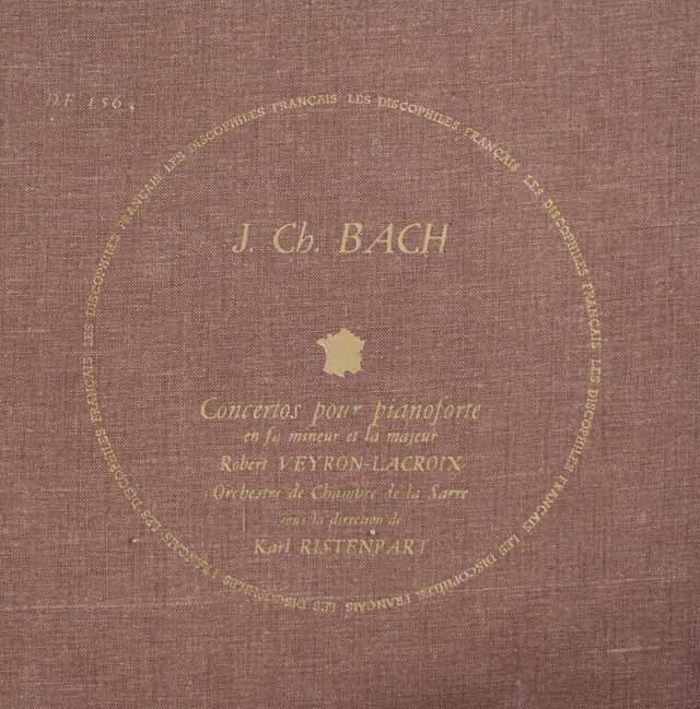 ランパル&リステンパルトのヴィヴァルディ/フルート協奏曲集 仏LES DISCOPHILES FRANCAIS 3044 LP レコード