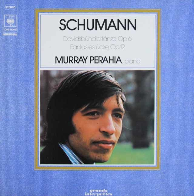 ペライアのシューマン/ダヴィット同盟舞曲集ほか  独CBS  3045 LP レコード