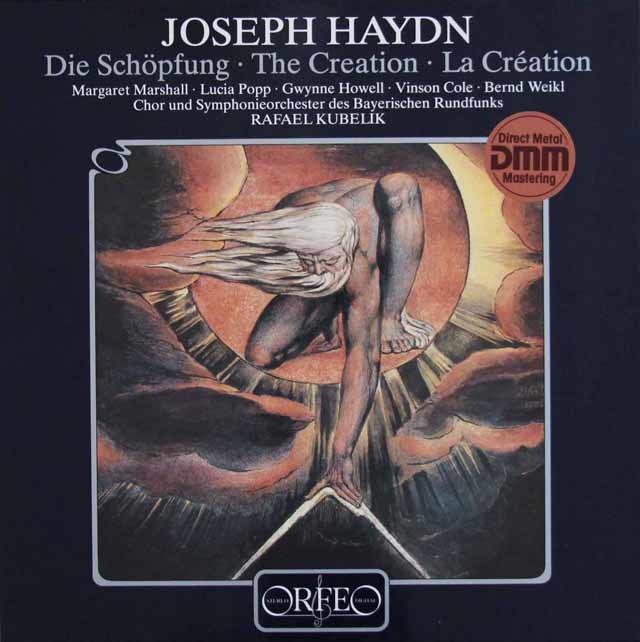 クーベリックのハイドン/オラトリオ「天地創造」 独ORFEO 3045 LP レコード