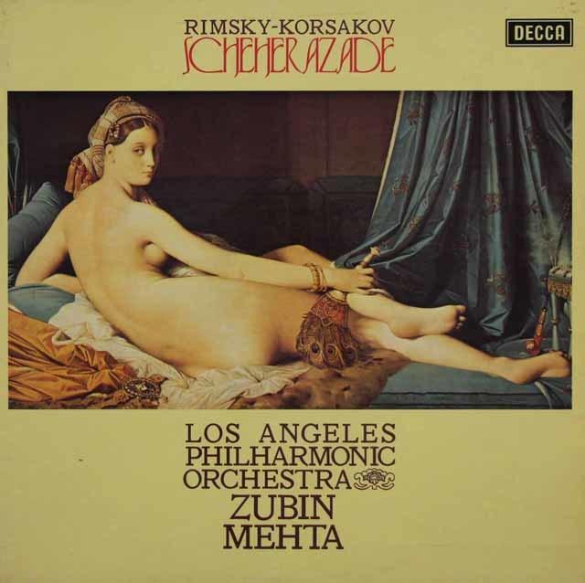 【オリジナル盤】 メータのリムスキー=コルサコフ/「シェヘラザード」 英DECCA 3046 LP レコード