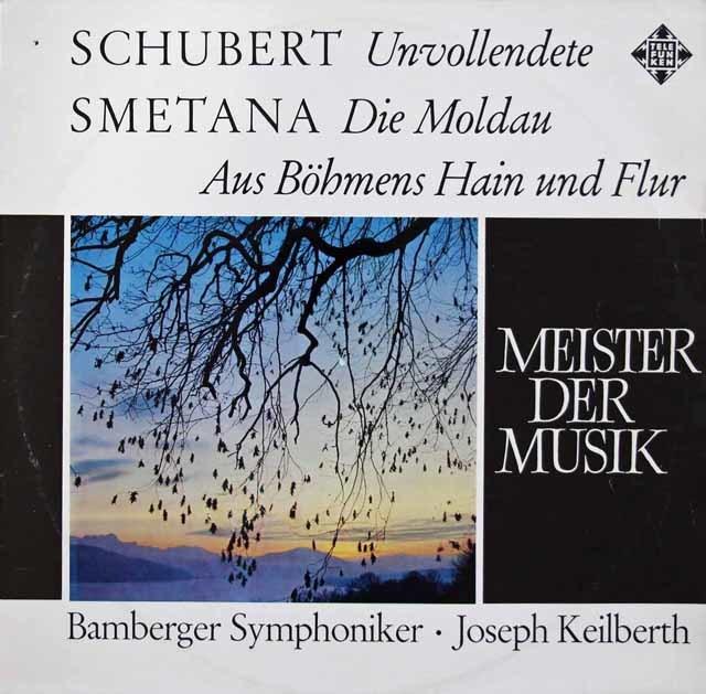 カイルベルトのシューベルト/交響曲第8番「未完成」ほか 独TELEFUNKEN 3046 LP レコード