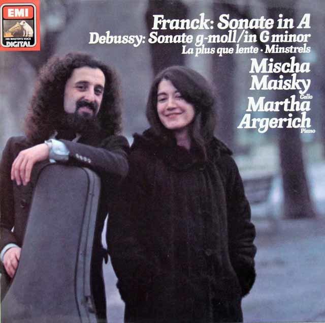 マイスキー&アルゲリッチのフランク/チェロソナタほか 独EMI 3046 LP レコード