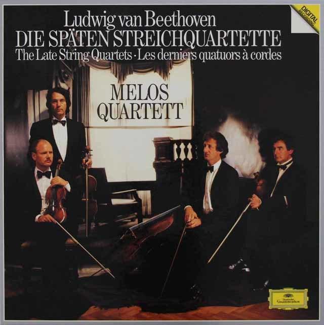 メロス四重奏団のベートーヴェン/後期弦楽四重奏曲集 独DGG 3046 LP レコード