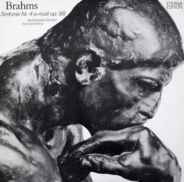 ザンデルリンクのブラームス/交響曲第4番  独ETERNA 3047 LP レコード