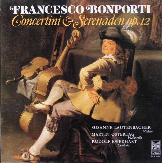 ラウテンバッハーらのボンポルティ/「コンチェルティーノとセレナータ」 独FSM 3047 LP レコード