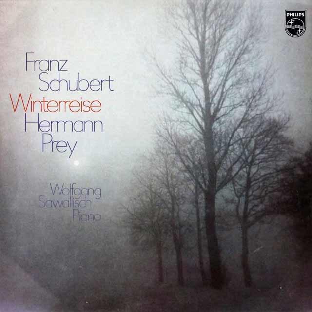【未開封】 プライ&サヴァリッシュのシューベルト/歌曲集「冬の旅」  独PHILIPS 3047 LP レコード