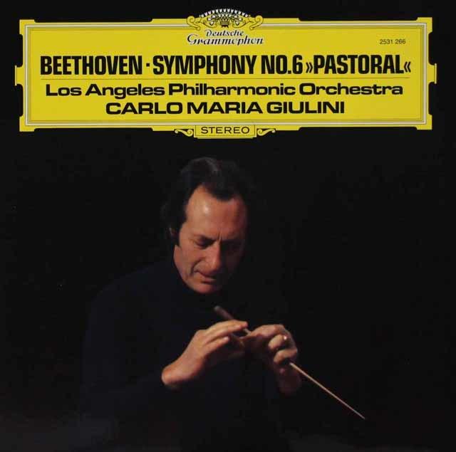 ジュリーニのベートーヴェン/交響曲第6番「田園」 独DGG 3047 LP レコード