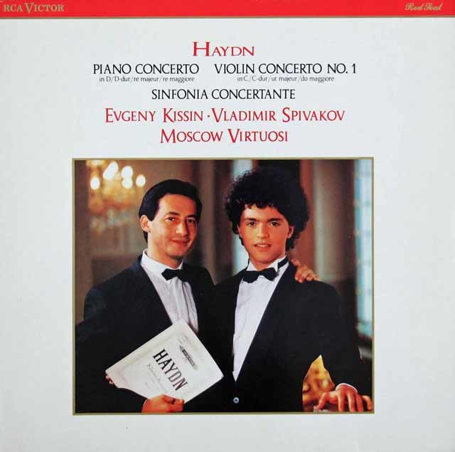 キーシンのハイドン/ピアノ協奏曲第11番ほか  独RCA   3048 LP レコード