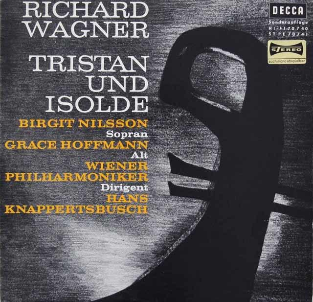 クナッパーツブッシュのワーグナー/「トリスタンとイゾルデ」抜粋  独DECCA 3048 LP レコード